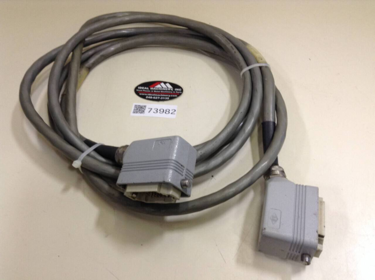 Details about  /JIC ELECTRIC Cable A460-3K4K-8016-E40 Used #71057